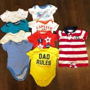 Bundle 42 baby boys clothes, hats and shoes
